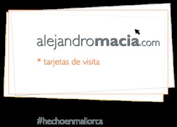 #sEstudi alejandro macià estrategías de comunicación, tarjetas de visitaa